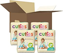Cuties Complete Care Baby Diapers, Size 4, 116Count