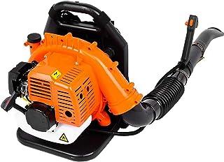 落ち葉や雪を洗浄するためのバックパックブロワー。 (Color : Orange, Size : 2-stroke)