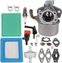 Mckin 798653 Carburetor + 491588S 491588 Air Filter fits Briggs and Stratton 697354 795069 698860 790290 698859 791077 696981 693865 694508 Carb