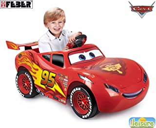 Feber Lightning Mcqueen 3 6V Ride-On Car - 800011186 Red