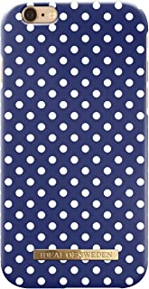 Ideal Of Sweden Spring Fashion Back Case For Apple Iphone 8/7/6/6S Plus - Blue Polka Dots