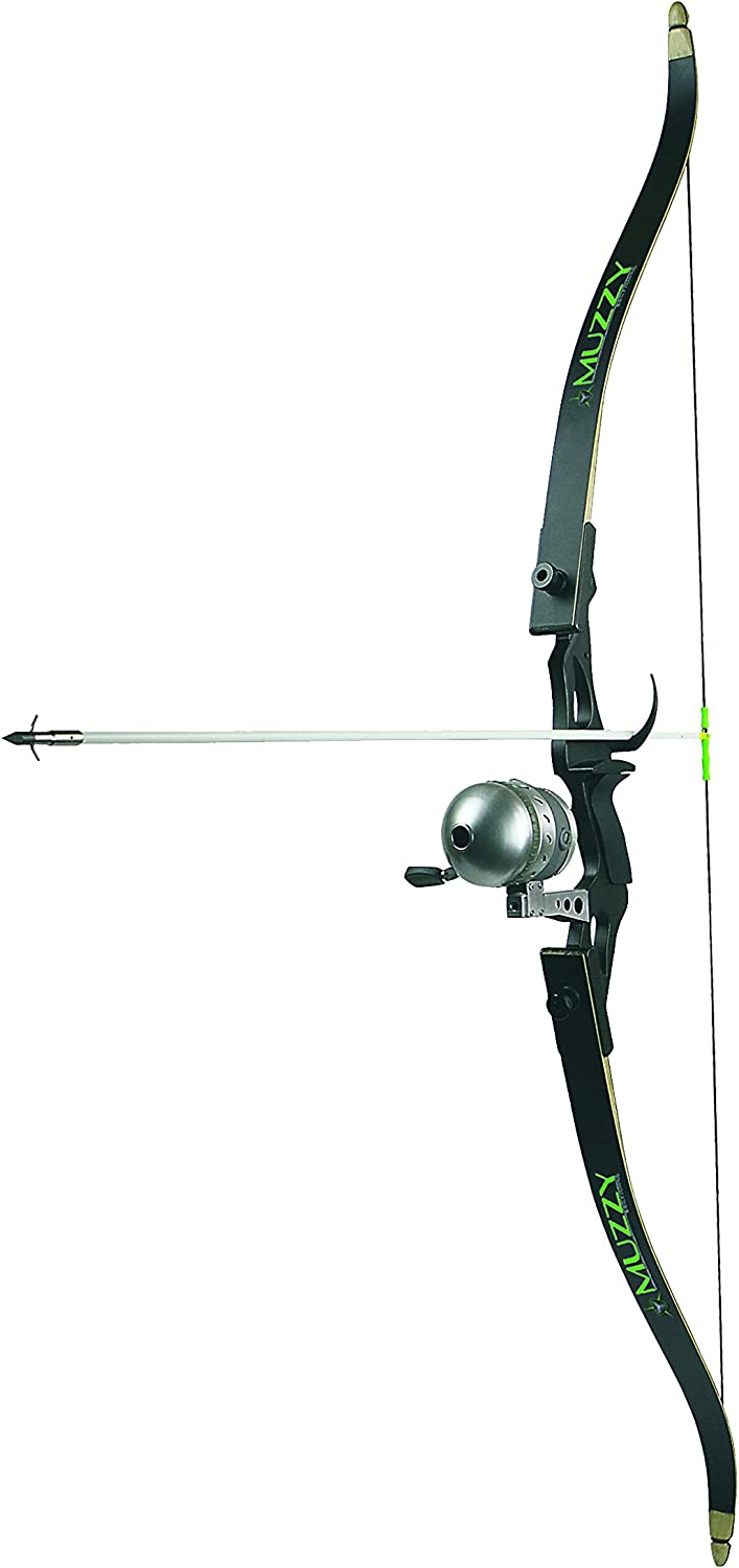 Muzzy 7505 40  28  Recurve Bowfishing Kit, Black