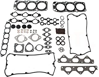 Head Gasket Set for 91-99 Mitsubishi 3000GT Dodge Stealth 3.0L V6 Engine Code 6G72 J K Graphite by Detoti Auto