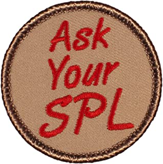 Ask Your SPL Patrol Patch - 2