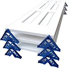 Stak Rack | 4 in 1 Painter's Accessory Tool | Stacking Design | Paint Interior or Exterior Doors, Trim & Kitchen Cabinet Doors| for Contractors & Homeowners (12)