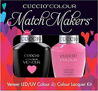 Cuccio Matchmakers Duo - Pink Cadillac - Venice Beach '81 Spring/Summer Nail Polish + Uv/Led Gel by HealthMarket