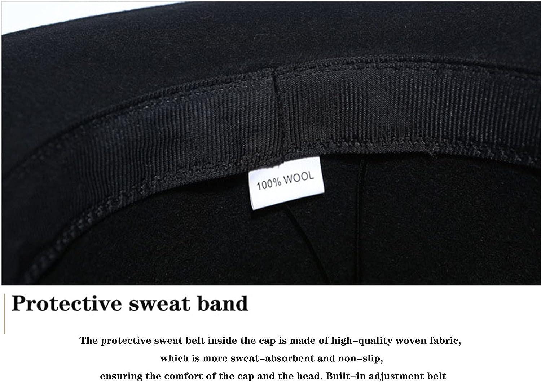 NC 100% Wool Fedora Hat Men's Steampunk Hat High Hat for Women