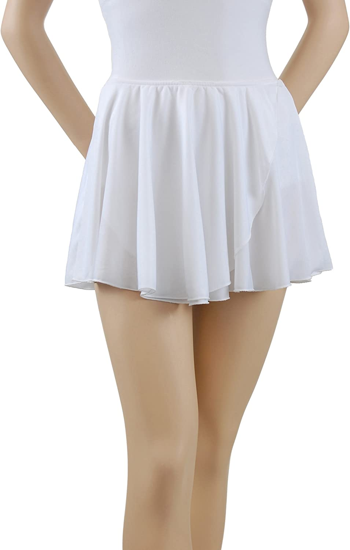 Trienawear Big Girls' Women's 12 Inch Circular Free Shipping Cheap Bargain Gift Superlatite Mock-Wrap Pull-On