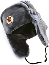 Hat Russian Soviet Army Air Force Fur Military Ushanka GR Size M