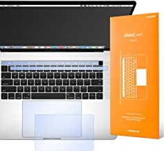 UPPERCASE GhostCover Touch Premium Touch Bar and Trackpad Protector with Matte Finish, Compatible with 2016 2017 2018 2019 MacBook Pro 15