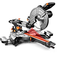 Deals on DSF Sliding Compound Miter Saw 10-Inch 15 Amp EMS01A