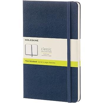 モレスキン ノート クラシック ノートブック ハードカバー プレーン(無地) ラージサイズ サファイアブルー QP062B20