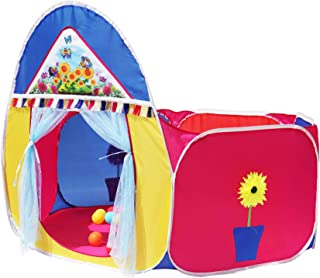 Homecute Pop up Basketball Kids Play Tent - Multi Colour