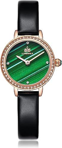 lowest KINGMALE Womens Watch Quartz Analog outlet online sale Leather Strap Watch Fashion sale Watch for Female sale