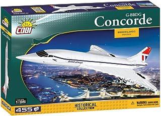 Cobi Historical Collection #1917 ミリタリーブロック コンコルド G-BBDG Concorde 1/95スケール 【COBI 日本正規総代理店】