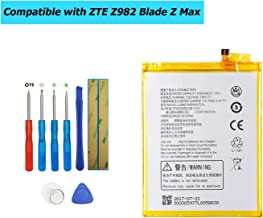 Upplus Li3940T44P8h937238 Replacement Battery Compatible with ZTE Z982 Blade Z Max with Toolkit 3.85V 4050mAh