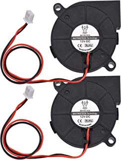 5015 Cooling Fan 50x50x15mm 12V/24V Brushless Fan Blower Fan 2-Pin Connector for 3D Printer Parts-HomGeal