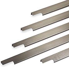 Meubelgreep BLANKETT Slim Lengte 595 mm RVS-optiek geborsteld Greeplijst van SOTECH