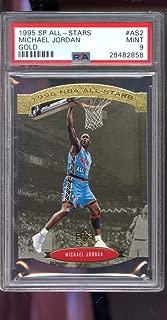 1995-96 Upper Deck SP All-Stars Gold #AS2 Michael Jordan Insert MINT PSA 9 Graded NBA Basketball Card All-Star