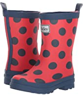 Hatley Kids Polka Dots on Red Rain Boots (Toddler/Little Kid)