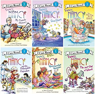 Fancy Nancy Six Book Super Reader Set (I Can Read Book 1) (Includes: Fancy Nancy and the Delectable Cupcakes; Fancy Nancy ...