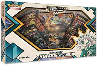 Pokemon TCG: Shiny Zygarde-Gx Premium Gx Box | 4 Booster Pack | A Foil Promo Card | A Oversize Foil Card