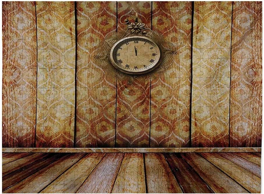 Victorian Max 72% OFF Puzzle Games 1000 Piece Antique on Medieval Sty OFFicial Clock