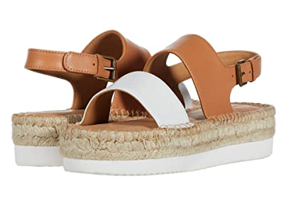 Soludos Ali Sport Sandal (Camel/White) Women