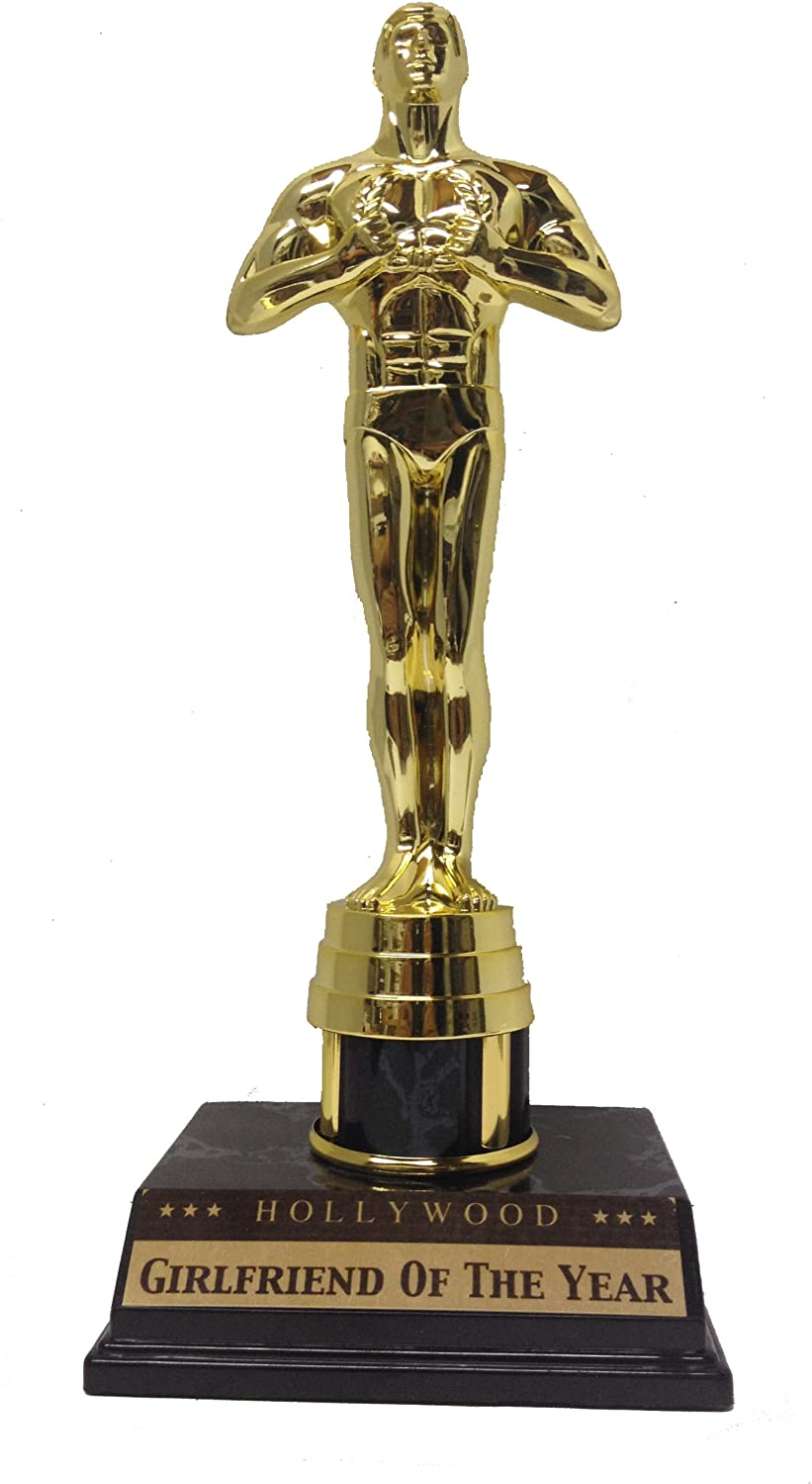 Amazon Com Victory Trophy Statue Girlfriend Of The Year Sports Outdoors