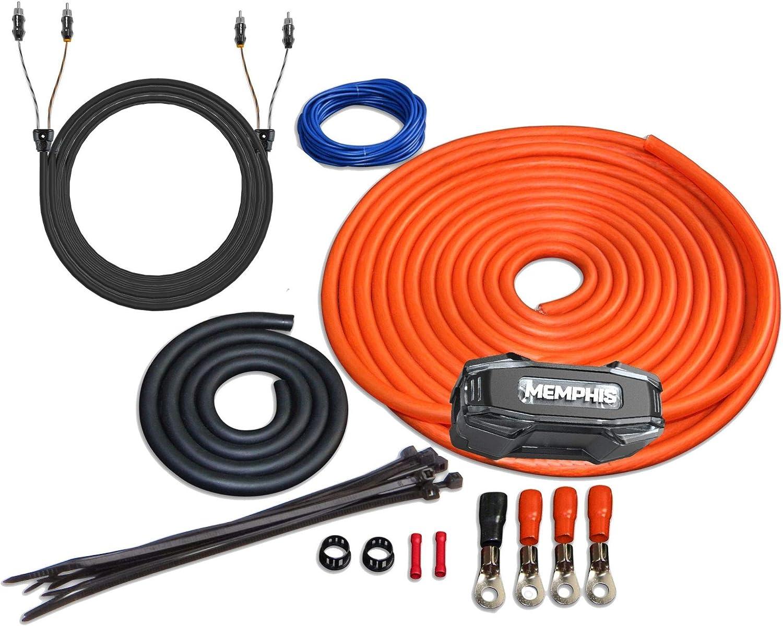 [Alternative dealer] Memphis Audio 4GKIT 4-Gauge Amp Install Holder Kit Fuse Sales results No. 1 with ANL