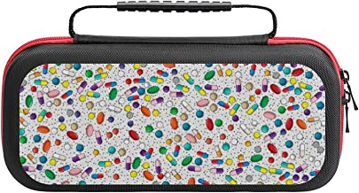 Medication Nurse Pharmacy Doctor Pill Design Case Compatible with Switch Case Protective Carry Bag Hard Shell Storage Bag ... photo