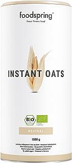 comprar comparacion foodspring Orgánica Instant Oats, 1000g, El método conocido para ganar peso más natural