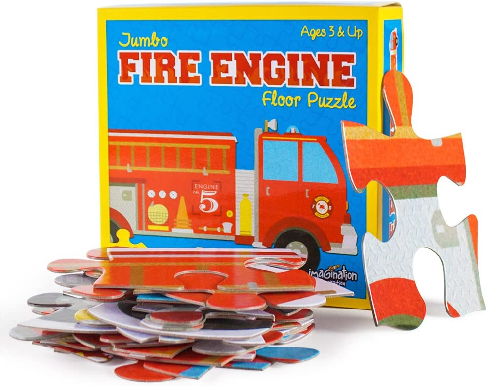 Imagination Challenge the lowest price New color of Japan ☆ Generation 24 Peice Jumbo Size Floor Puz Engine Fire