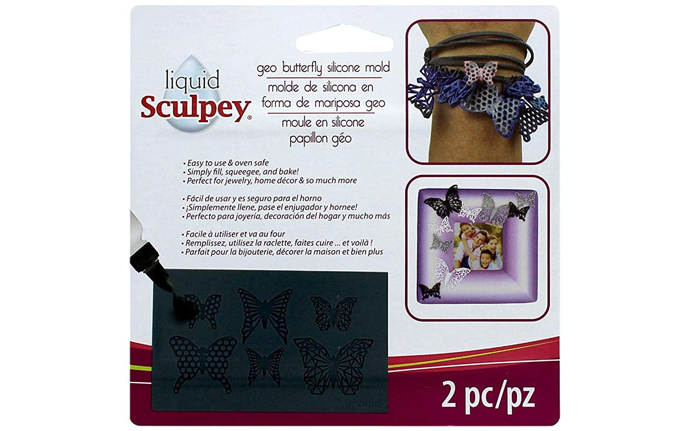 Sculpey APM47 Liquid Mold Silicone Butterfly
