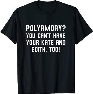 Polyamory funny pun polyamorous gift idea T-Shirt