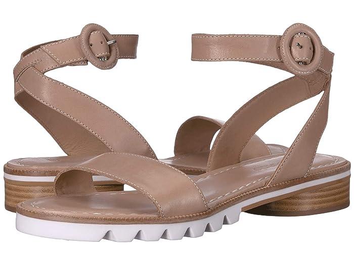 Bernardo  Alexis Sandal (Blush Antique Calf) Womens Sandals