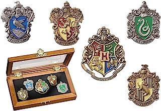 Harry Potter House Crest Pin Set