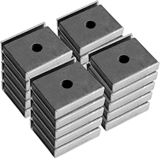 """Master Magnetics Magnetic Latch Channel Assembly, 1"""" Long, 0.875"""" Wide, 0.25"""" High, 7 Pounds Pull (Silver, Pack of 20), CA403CNX20"""