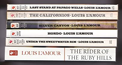 Louis L'Amour (6 Book Set) Last Stand at Papago Wells, The Californios, Silver Canyon, Under the Sweetwater Rim, Hondo, Th...
