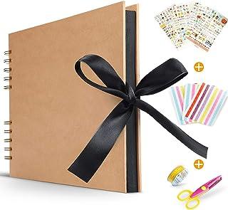 Koooper Libro Aventuras up Álbum de Fotos DIY Album up Tijeras Pegatinas Cumpleaños/Aniversario/Boda/Graduación
