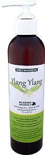 Ylang Ylang Massage Oil / Body Oil 8 Fl. Oz. (Edible) Pump