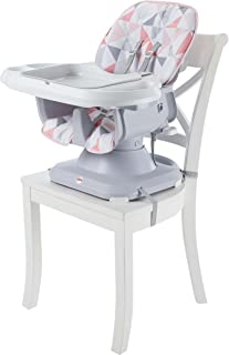 Fisher-Price SpaceSaver High Chair, Rosy Windmill