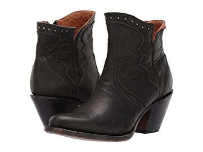Lucchese Karla (Black) Cowboy Boots