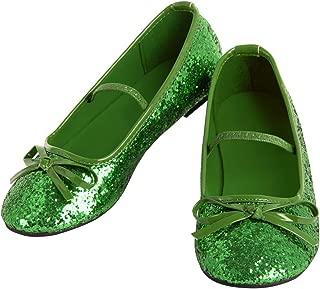 Green Ballet Shoe for Girls