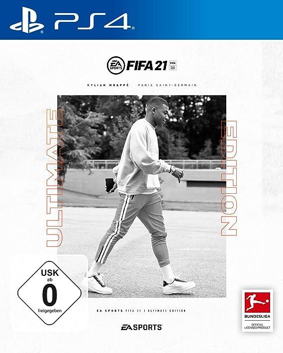 FIFA 21 ULTIMATE EDITION - (inkl. kostenlosem Upgrade auf PS5) - PlayStation 4 [Importación alemana]