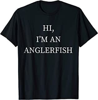 I'm a Anglerfish Halloween Costume Shirt Fish Last Minute
