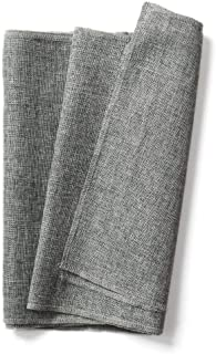 Ling's moment Gray Table Runner Faux Burlap Table Runners Imitated Linen 14 x 48 Inch for Wedding Party Table Farmhouse Table Runner