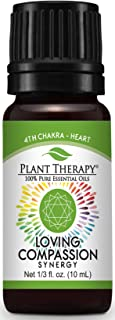 Plant Therapy Chakra 4 Loving Compassion Synergy (Heart Chakra) 10 mL (1/3 oz) 100% Pure, Undiluted, Therapeutic Grade