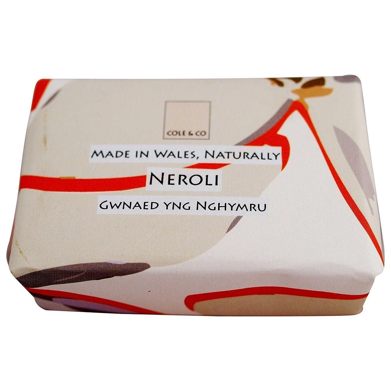 無限ヤギビジュアルコール&共同ネロリ石鹸80グラム (Cole & Co) (x2) - Cole & Co Neroli Soap 80g (Pack of 2) [並行輸入品]