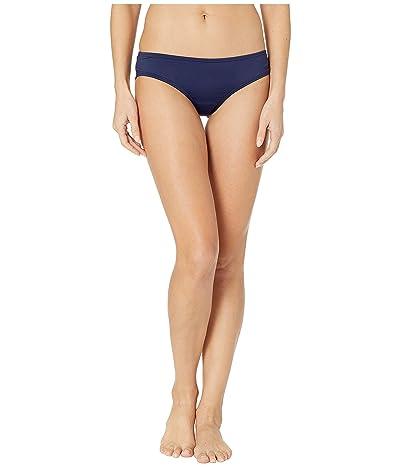 Vince Camuto Surf Shades Shirred Smooth Fit Cheeky Bikini Bottoms (Deep Sea) Women